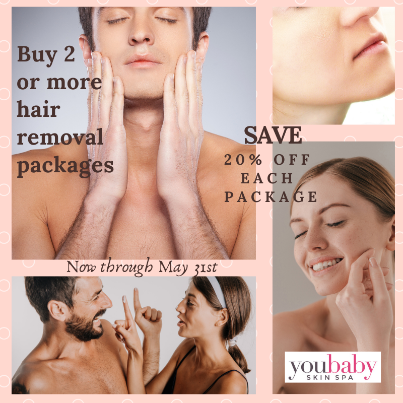 Hair removal May special